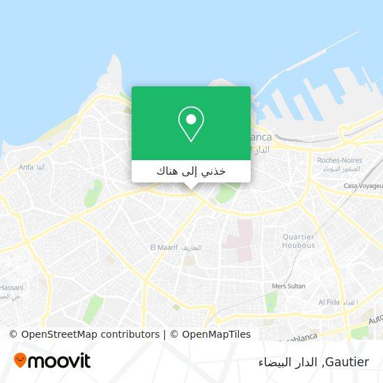 خريطة Gautier