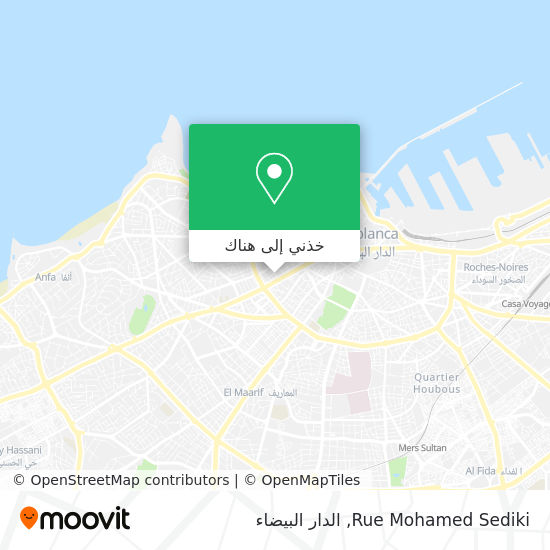 خريطة Rue Mohamed Sediki