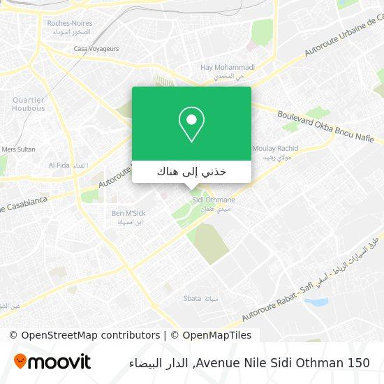خريطة Avenue Nile Sidi Othman 150