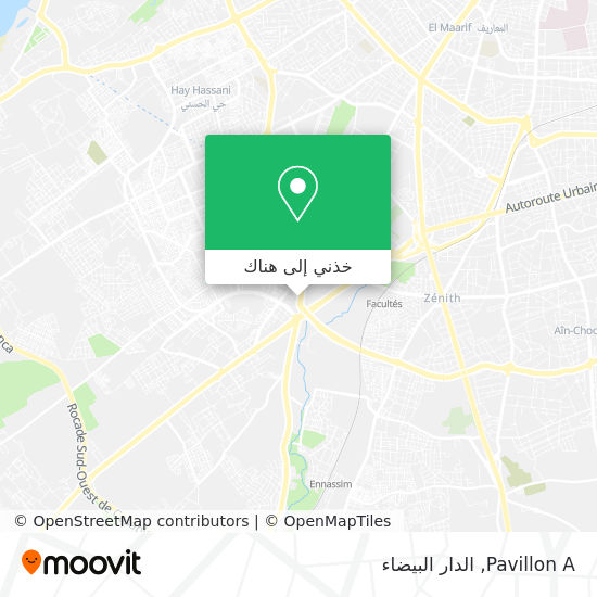 خريطة Pavillon A