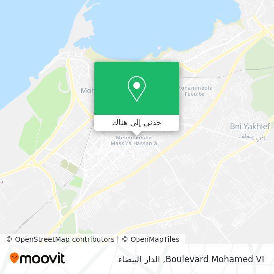 خريطة Boulevard Mohamed VI