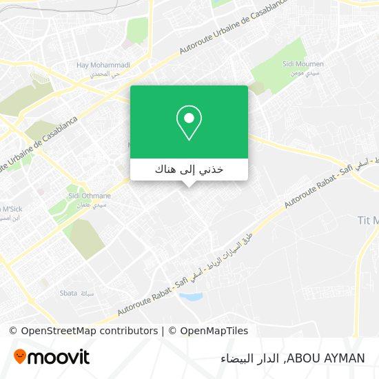 خريطة ABOU AYMAN