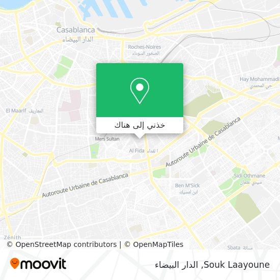 خريطة Souk Laayoune