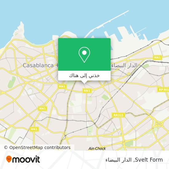خريطة Svelt Form