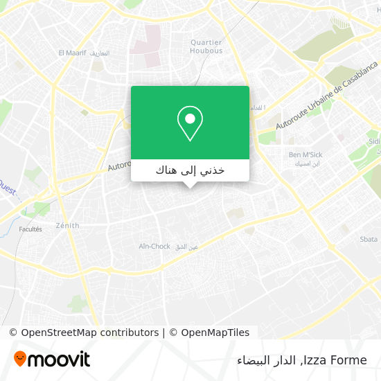 خريطة Izza Forme