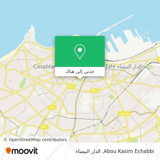 خريطة Abou Kasim Echabbi