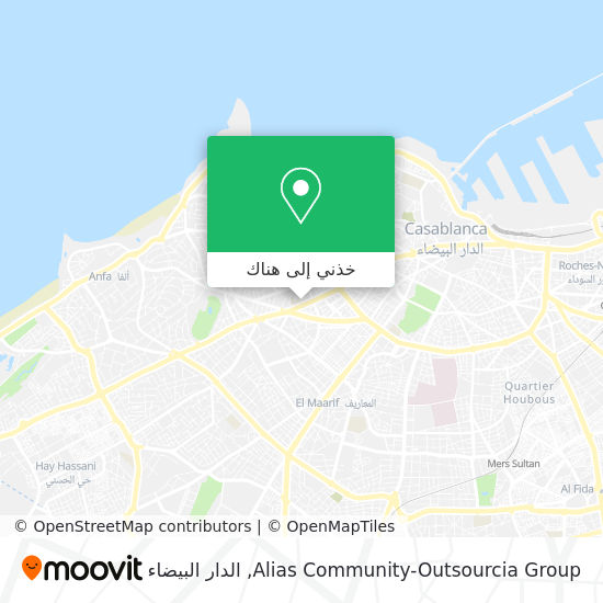 خريطة Alias Community-Outsourcia Group