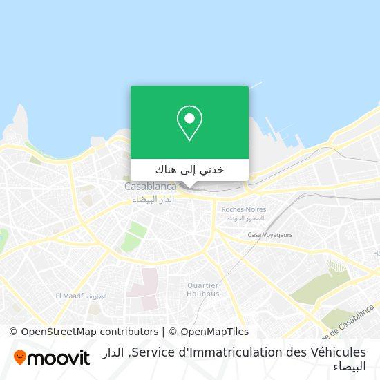 خريطة Service d'Immatriculation des Véhicules