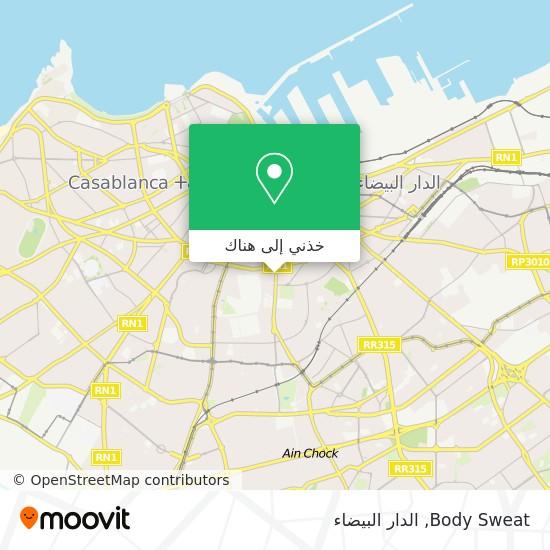 خريطة Body Sweat