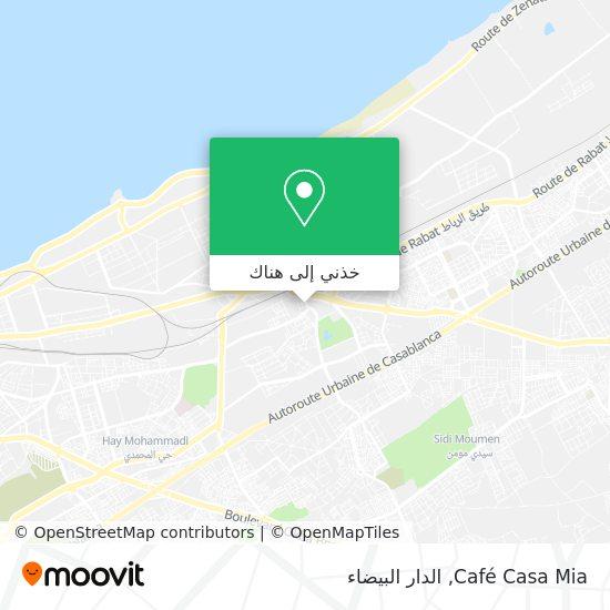 خريطة Café Casa Mia