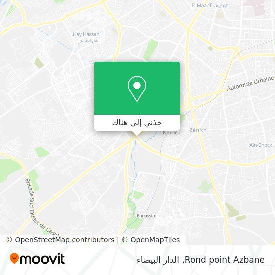 خريطة Rond point Azbane
