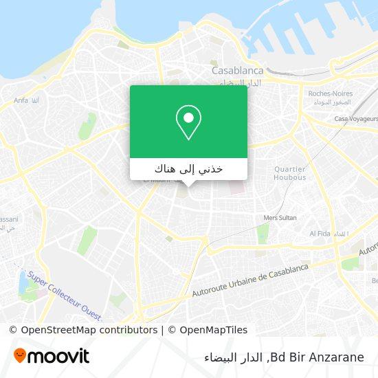 خريطة Bd Bir Anzarane