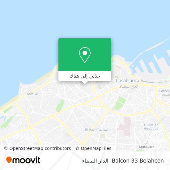 خريطة Balcon 33 Belahcen