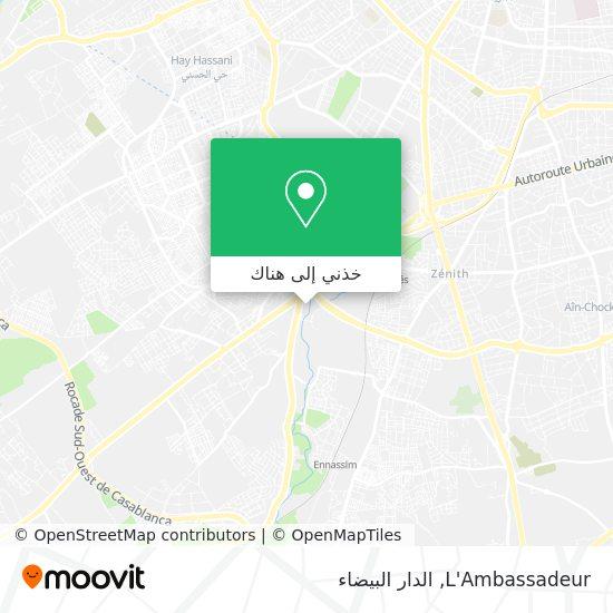 خريطة L'Ambassadeur