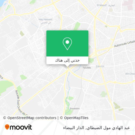 خريطة عبد الهادي مول الضيطاي