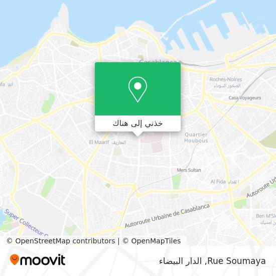 خريطة Rue Soumaya