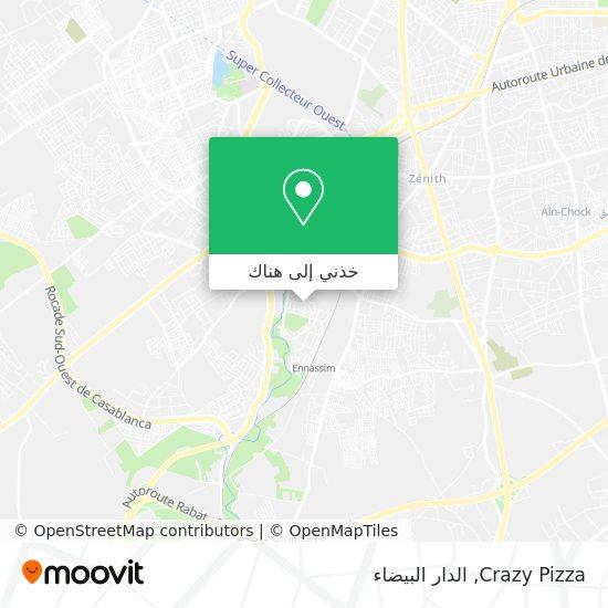 خريطة Crazy Pizza