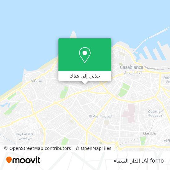 خريطة Al forno
