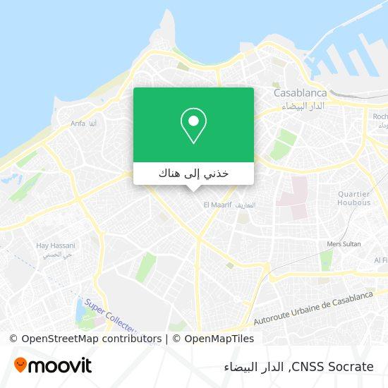 خريطة CNSS Socrate