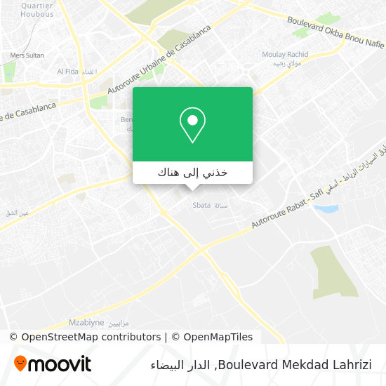 خريطة Boulevard Mekdad Lahrizi