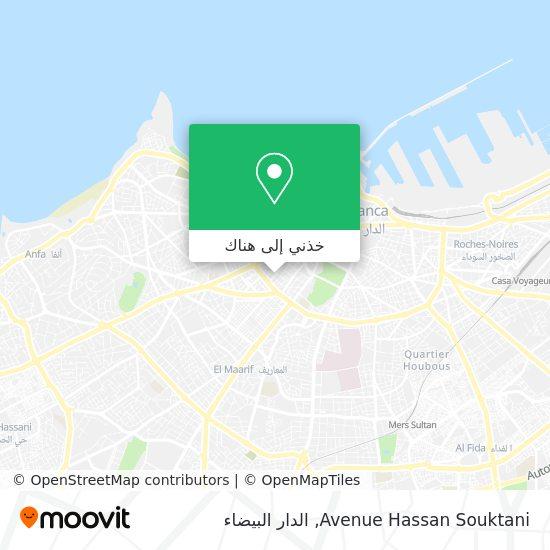 خريطة Avenue Hassan Souktani