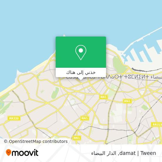 خريطة damat | Tween