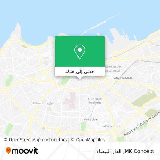 خريطة MK Concept