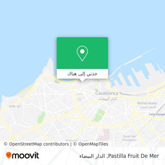 خريطة Pastilla Fruit  De Mer