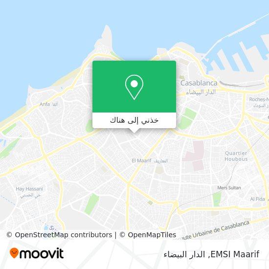 خريطة EMSI Maarif