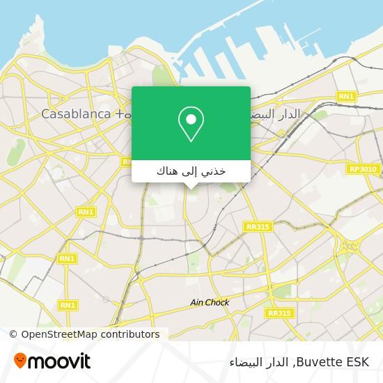 خريطة Buvette ESK