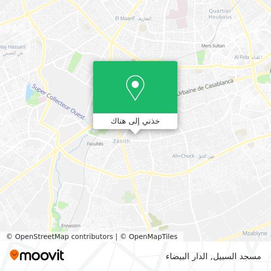 خريطة مسجد السبيل