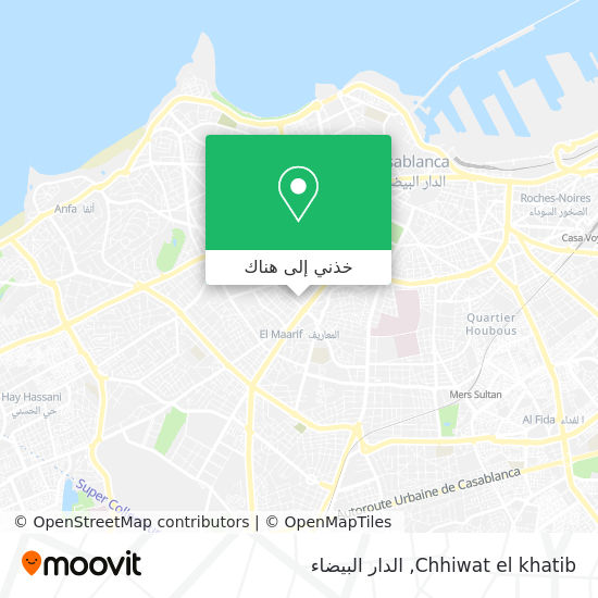 خريطة Chhiwat el khatib
