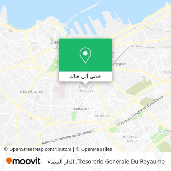 خريطة Tresorerie Generale Du Royaume
