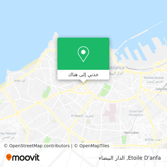 خريطة Etoile D'anfa