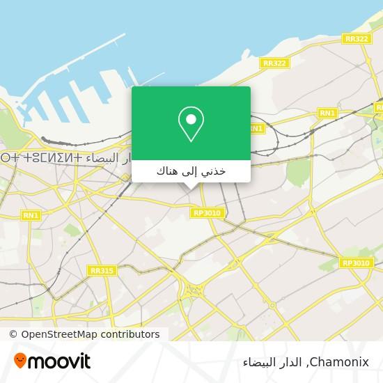 خريطة Chamonix