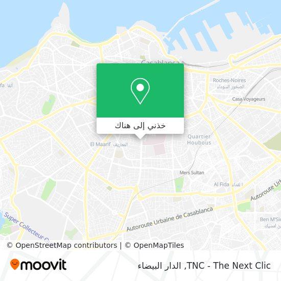 خريطة TNC - The Next Clic