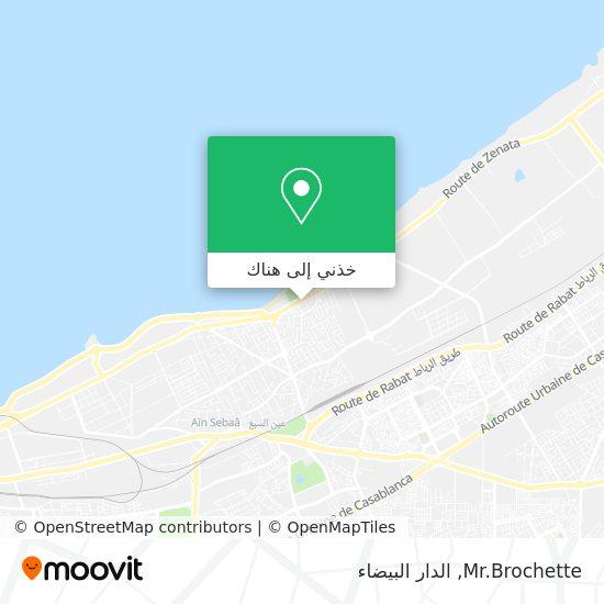 خريطة Mr.Brochette