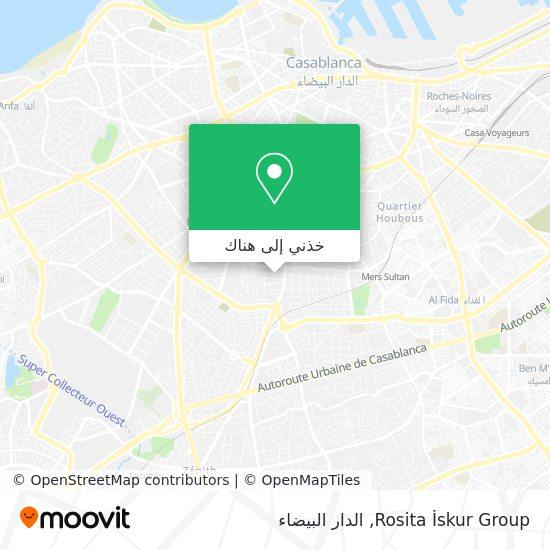 خريطة Rosita İskur Group