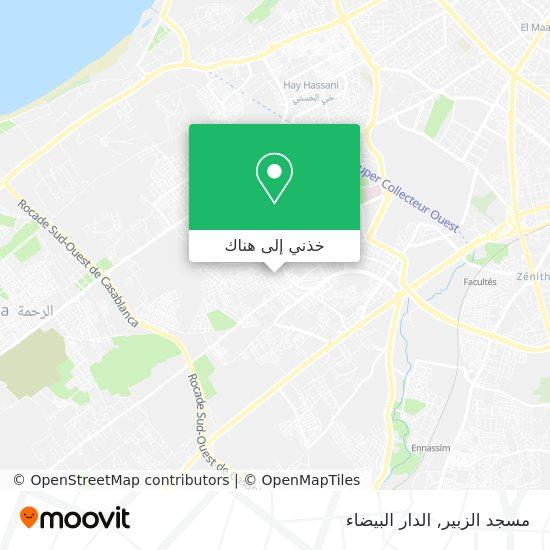 خريطة مسجد الزبير
