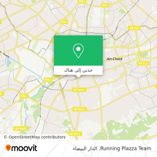 خريطة Running Plazza Team