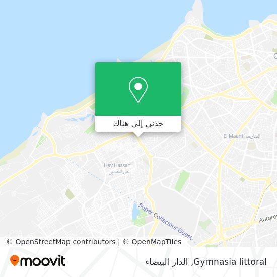 خريطة Gymnasia littoral