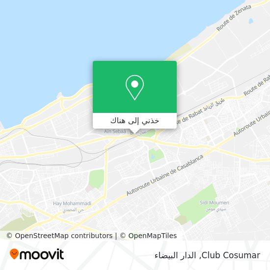 خريطة Club Cosumar