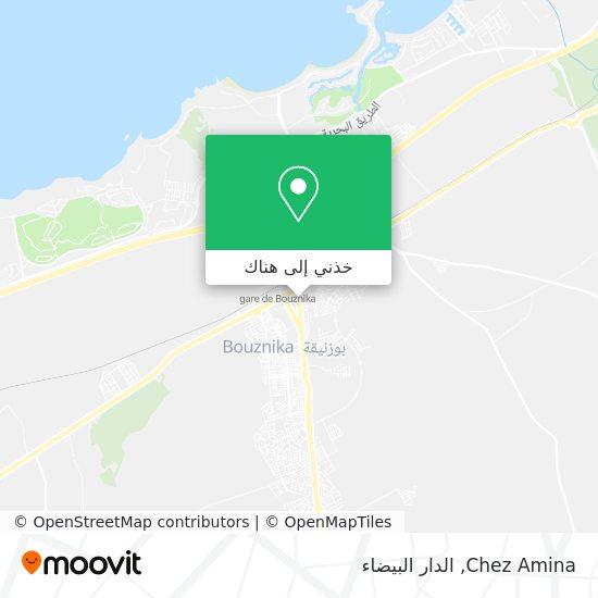 خريطة Chez Amina