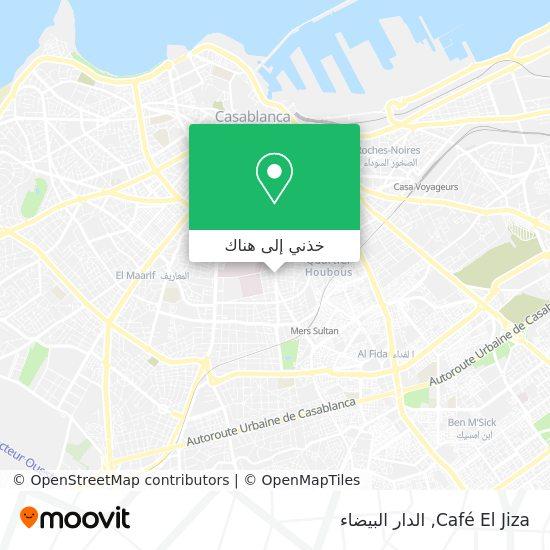 خريطة Café El Jiza