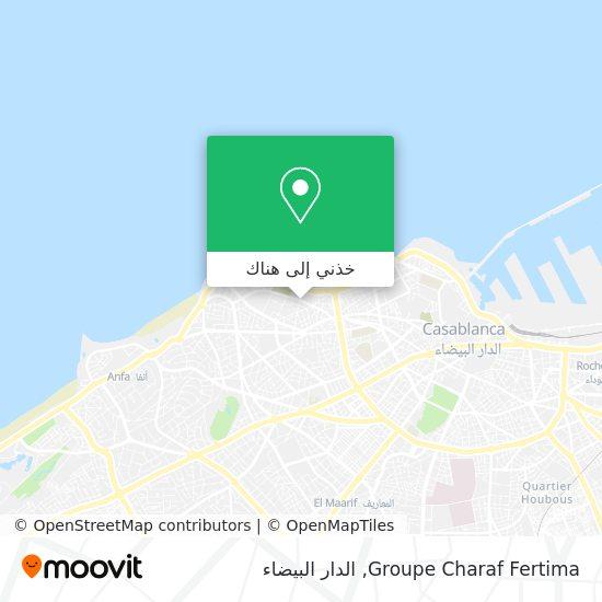 خريطة Groupe Charaf Fertima