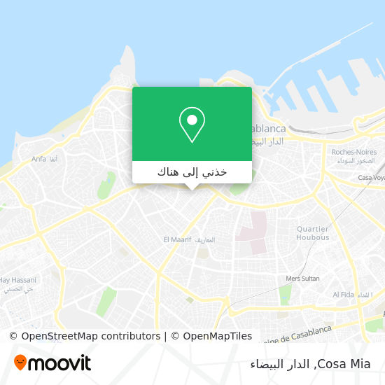 خريطة Cosa Mia
