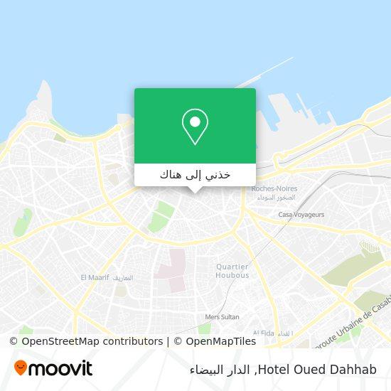 خريطة Hotel Oued Dahhab