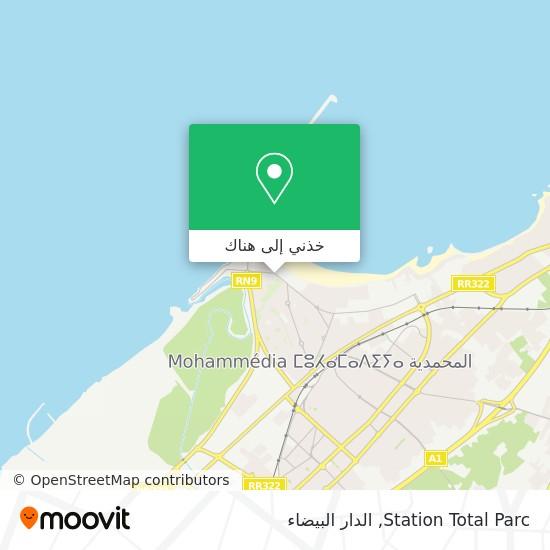 خريطة Station Total Parc