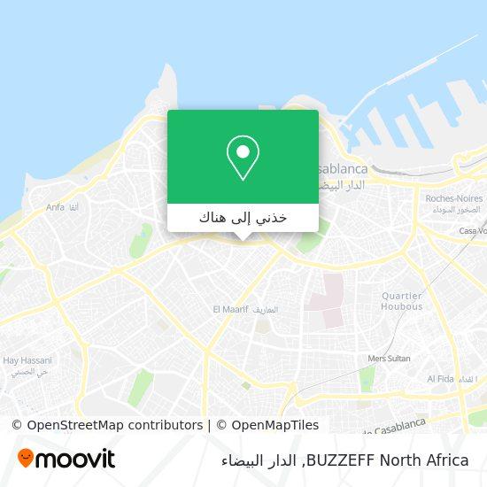 خريطة BUZZEFF North Africa
