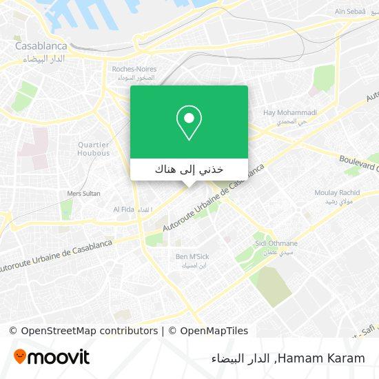 خريطة Hamam Karam